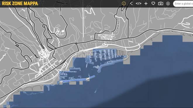 Riviera24 - riscaldamento globale, la Riviera sommersa dall'acqua