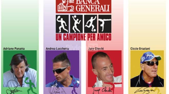 riviera24 - Sanremo, ottava tappa di Banca Generali - Un Campione per Amico