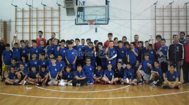 riviera24 -Torneo quadrangolare di minibasket organizzato dall'Olimpia Basket Arma Taggia