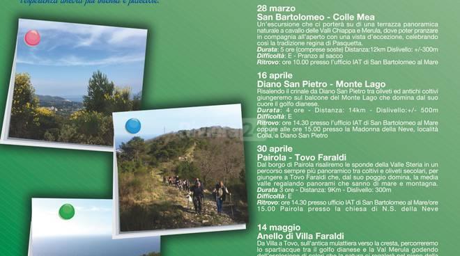 riviera24 -Trekking urbano di San Bartolomeo al Mare