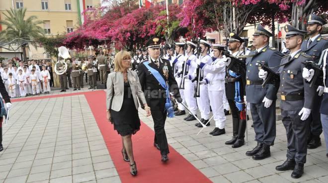 Festa della Repubblica, la cerimonia in Calata Anselmi col prefetto