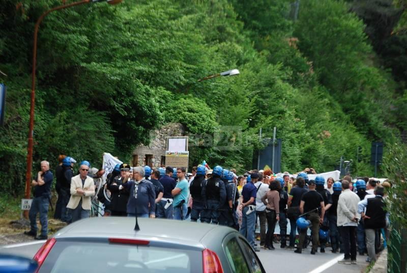 Manifestazione no border