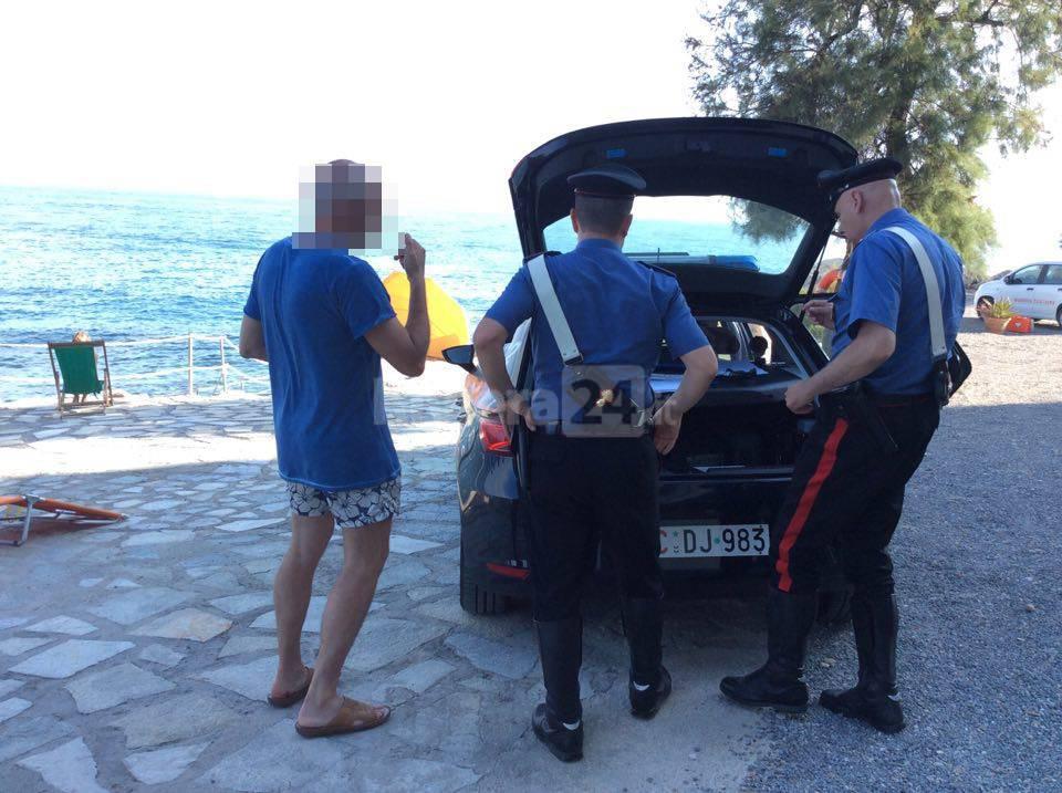 riviera24 - 118 morto mare bordighera carabinieri