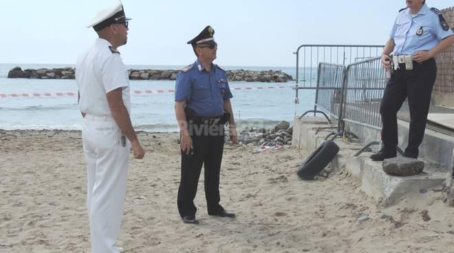 riviera24 - Ad Arma il mare è una bomba: scoperto l'ennesimo ordigno inesploso