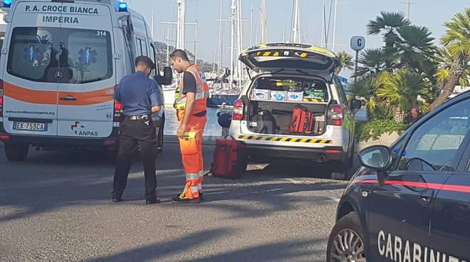 riviera24 - incidente porto aregai