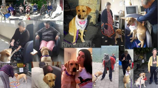 """riviera24 -  Progetto di Pet Therapy """"Orme nell'anima"""""""