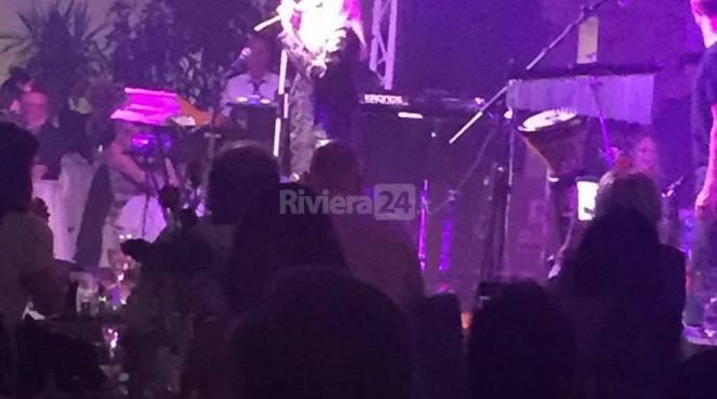 Riviera24 - Sanremo, cena al Roof Garden del Casinò per Patty Pravo