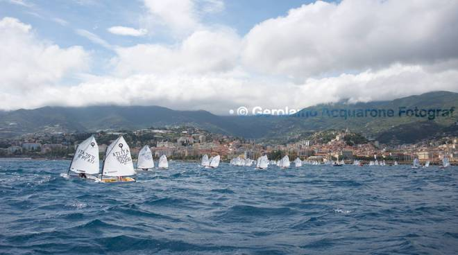 riviera24 - vela optimist sanremo