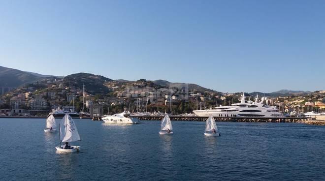 Sanremo, molo lungo del porto vecchio