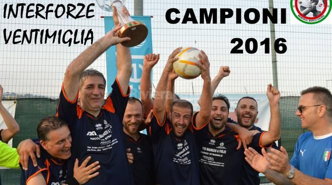 torneo interforze gavino 2016