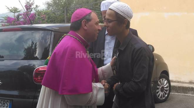 Cristiani e islamici a Messa insieme a Sanremo