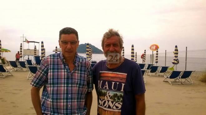 Daniele Calvi e Sergio Giusto