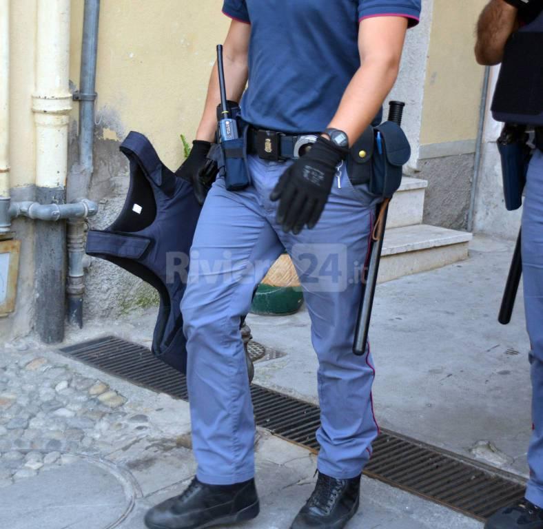 riviera 24 -  polizia sanremo arresto piazza san siro