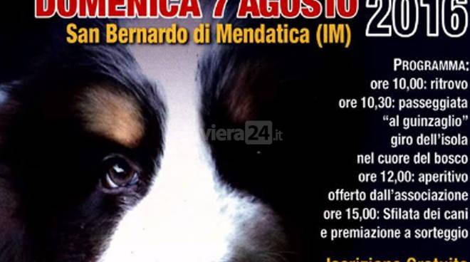 riviera24 - A San Bernardo di Mendatica l'11° Raduno 4 zampe Day