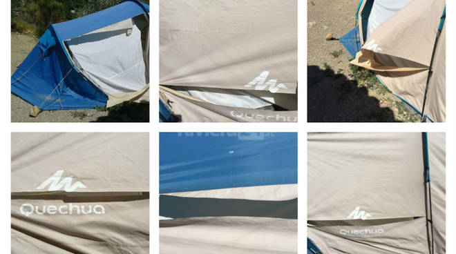 riviera24 - Atto vandalico al presidio #nolotto6, la denuncia del M5S Sanremo