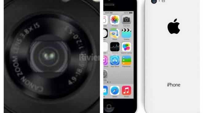riviera24 - Canon e un iPhone
