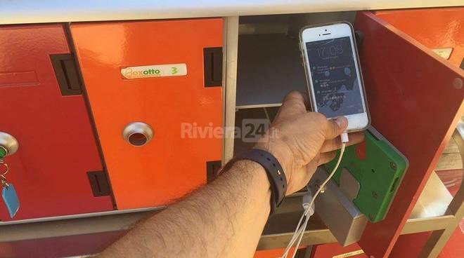 Riviera24 – cassette di sicurezza in spiaggia
