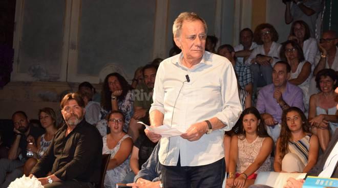 Riviera24 - Cervo, Premio Strega, Edoardo Albinati, Roberto Vecchioni