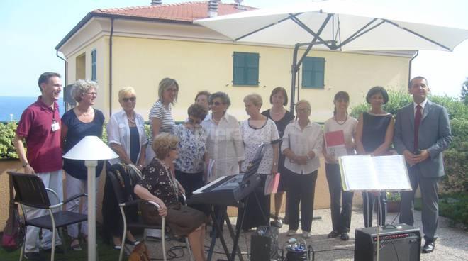 riviera24 - Concerto alla Residenza Anni Azzurri LeGrange