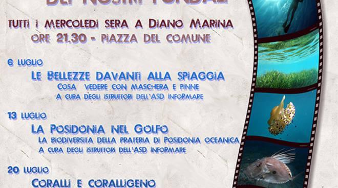 """riviera24 - """"Foto e video dei nostri fondali"""" a Diano Marina"""