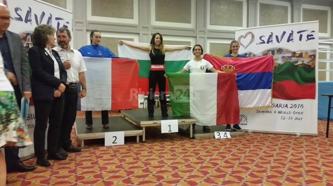 riviera24 - Francesca Casassa Vigna al Campionato europeo giovanile Savate Assalto