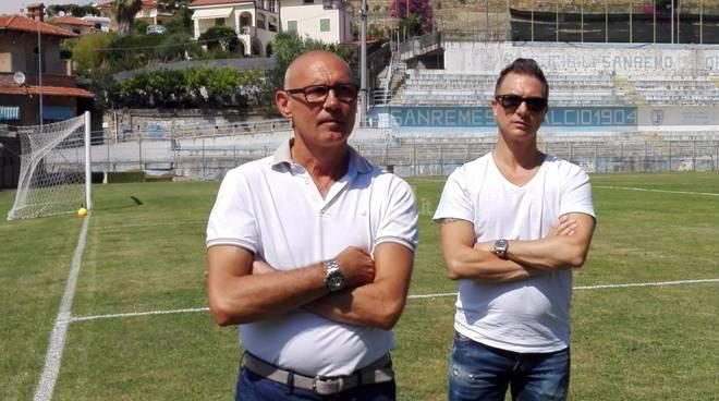 riviera24 - Inizio preparazione Unione Sanremo luglio 2016 sanremese