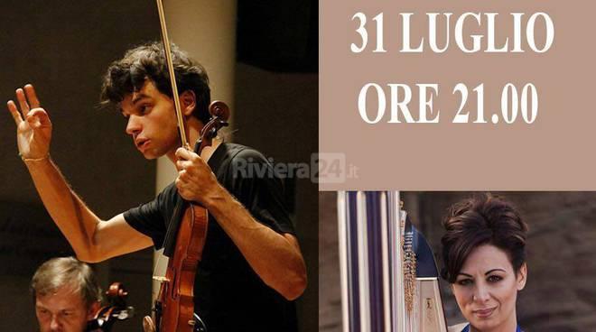 Riviera24 - Isolabona, Stefano Mhanna in concerto con Cristina Greco