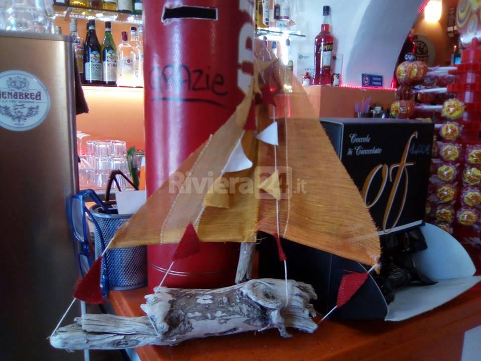 riviera24 - mondiale vela vetrine a tema santo stefano al mare
