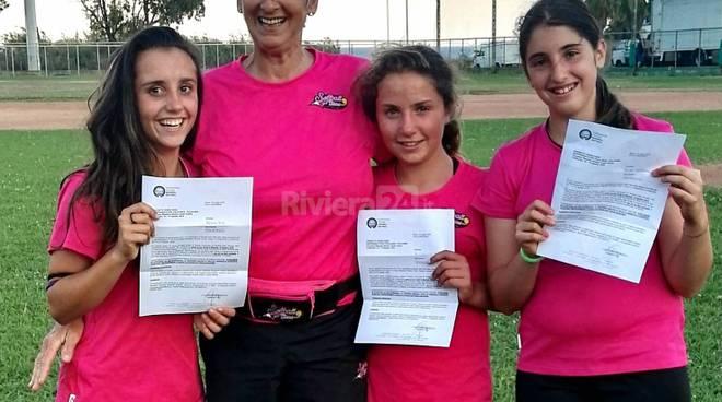 riviera24 -Ragazze della Sanremese Baseball-Softball