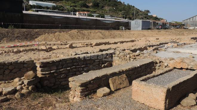 riviera24 - riva ligure campagna di scavo 2016 capo don
