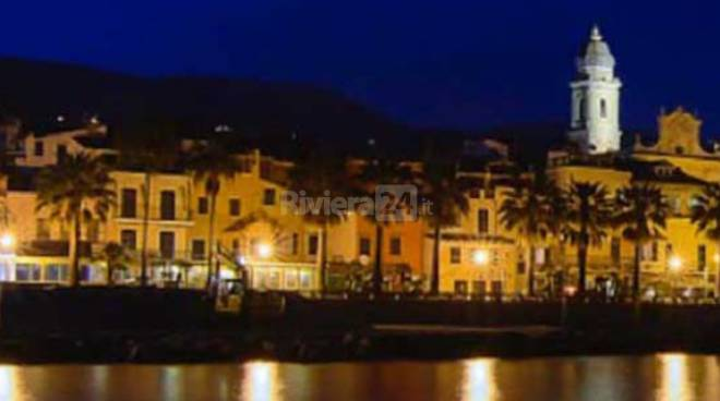 riviera24 - riva ligure notte