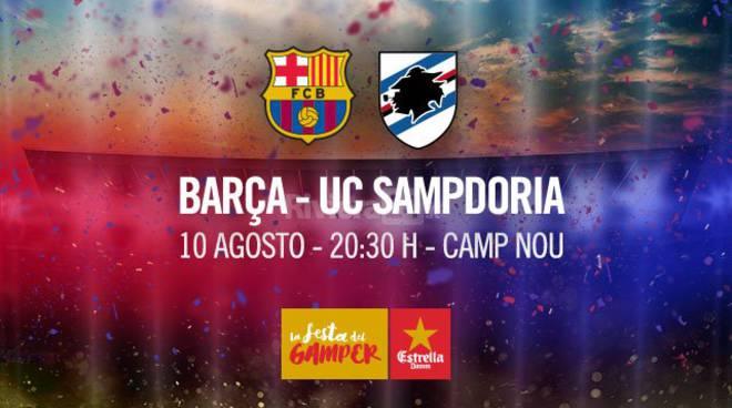 riviera24 -Sampdoria a Barcellona