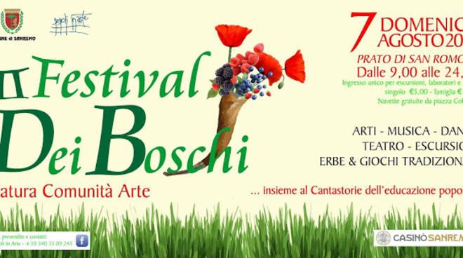 Riviera24 – San Romolo, Festival dei Boschi