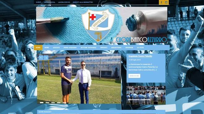 riviera24 - Sanremo, attivato il nuovo sito della Sanremese Calcio