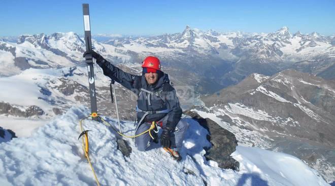 riviera24 - Stefano Sciandra con Marco Barmassem sul Rimpfischhorn