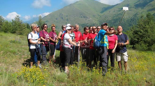 riviera24 -Successo per la passeggiata di Nordic Walking ad Agaggio