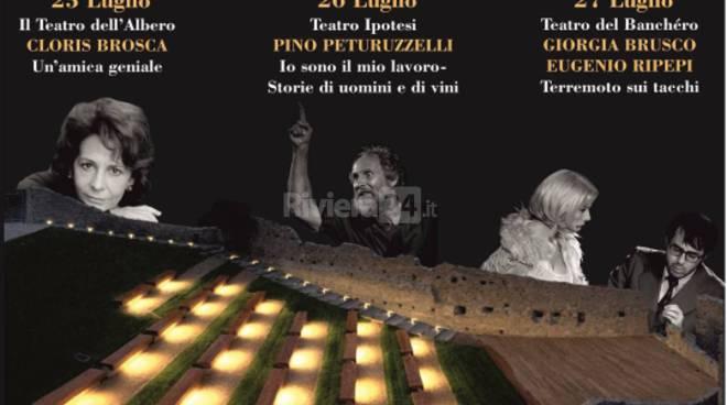 riviera24 - Teatro del Banchéro torna all'Anfiteatro del Castello di Taggia