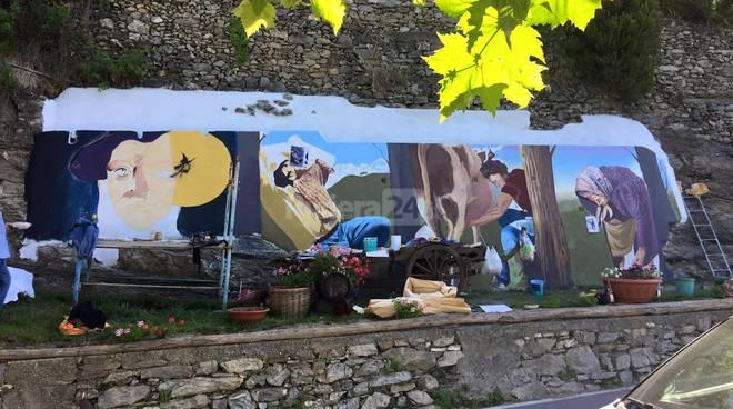 Riviera24 – Triora, murales, Liceo Artistico di Imperia