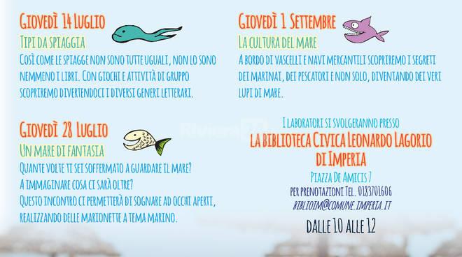 """riviera24 -  """"Un mare di libri - estate"""""""