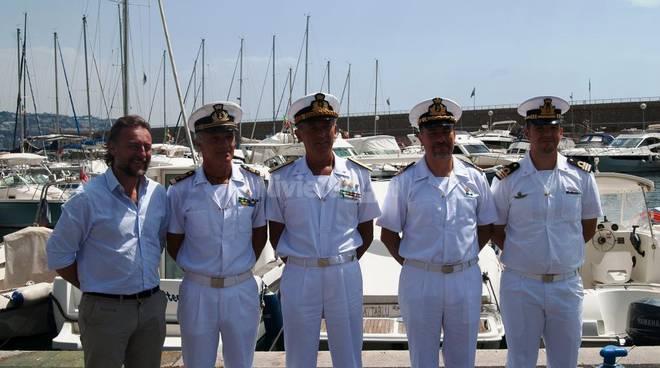 riviera24 - Visita dell'Ammiraglio Pettorino nei comuni