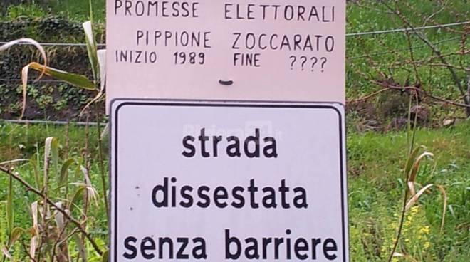 Strada collinare san Pietro Parà e san Donato