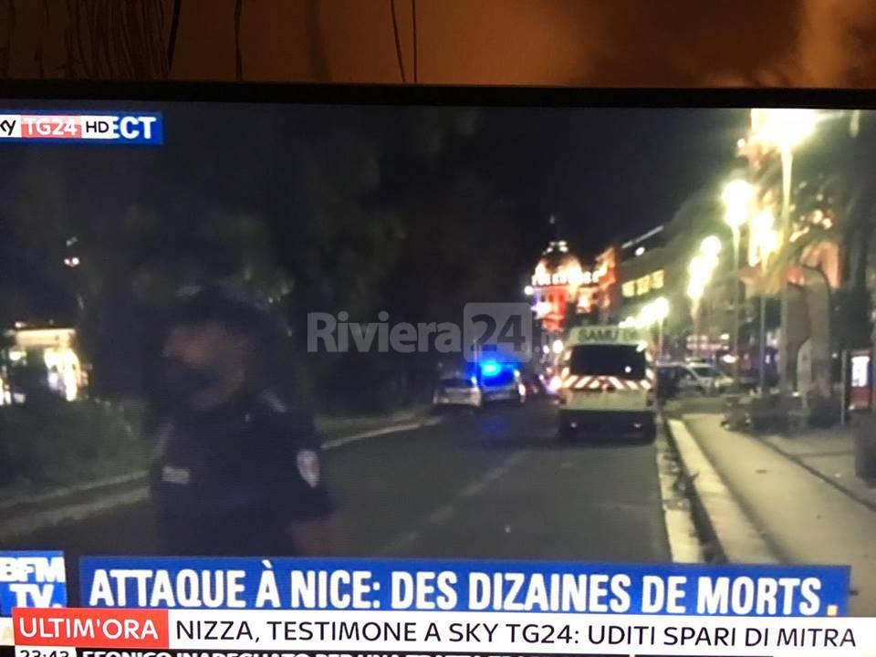 Strage a Nizza durante i fuochi