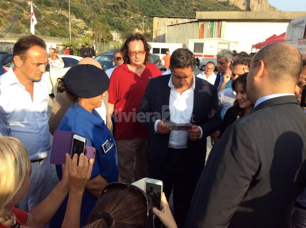 La visita del Presidente Toti al Parco Roja