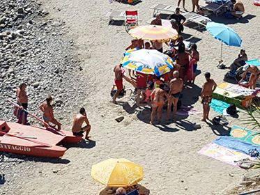 riviera24 - 118 soccorsi spiaggia morto