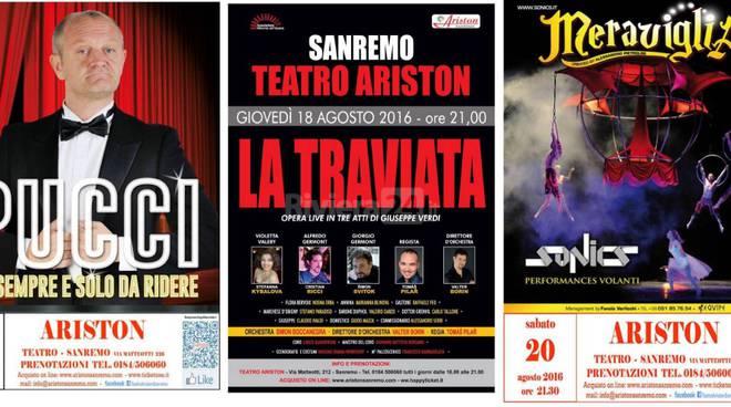 riviera24 - Appuntamenti al Teatro Ariston nella settimana di ferragosto