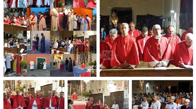 riviera24 -  Aurigo, celebrazione in memoria del martirio di San Giovanni Battista