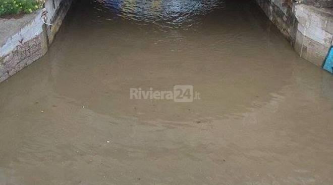Riviera24 - Bordighera, allagamento