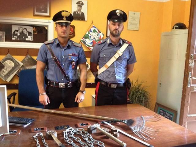 riviera24 - carabinieri armi no borders