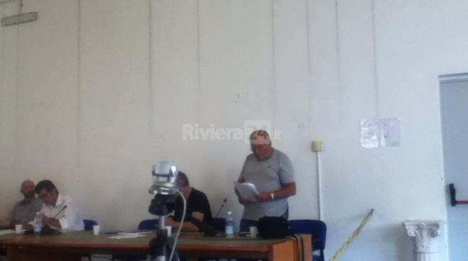riviera24 - Consigliere Ramoino siede tra i banchi della minoranza