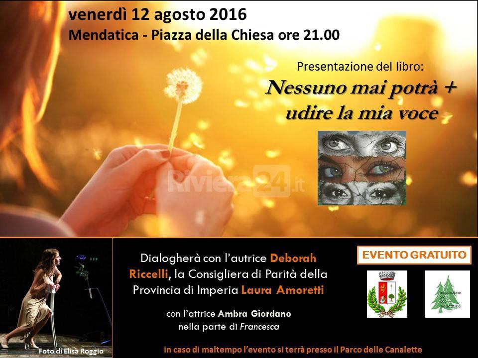 riviera24 -Eventi della 2° settimana di agosto a Mendatica